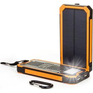 BATTERIE EXTERNE 15000mAh Chargeur de Batterie Solaire Power Bank c