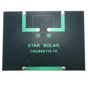 KIT PHOTOVOLTAIQUE 12V 100mA 1.5W mini Panneau solaire petite cellule