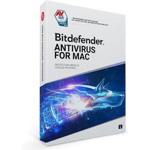 BUREAUTIQUE À TÉLÉCHARGER Logiciel Bitdefender Antivirus pour Mac - 1 poste