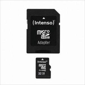 CARTE MÉMOIRE INTENSO 32GB MICROSDHC (3413480)