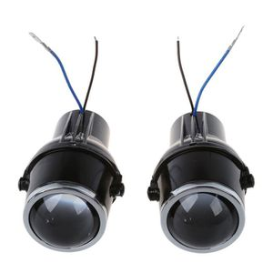 PHARES - OPTIQUES 2 x Phare antibrouillard ampoule 55W H3 universell