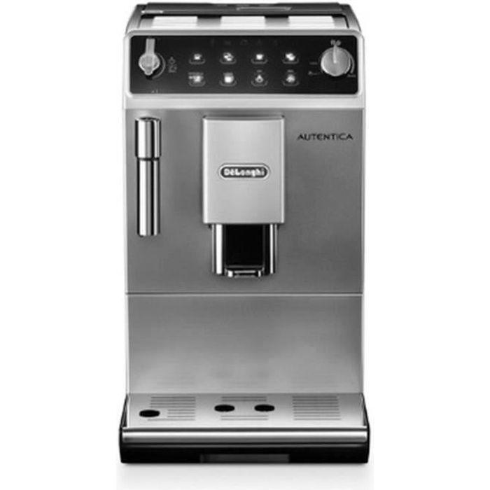 DELONGHI ETAM29.510 SB Machine expresso automatique avec broyeur Autentica - Inox