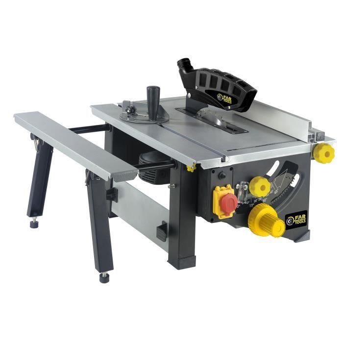 FARTOOLS PRO - TS 1200 Scie de table 1200 W, Diamètre 210 mm - 113366