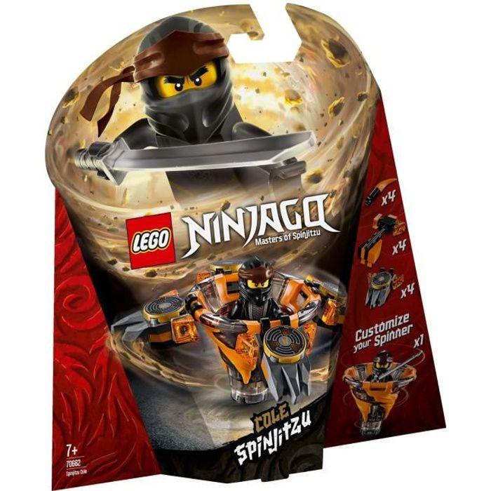 Lego 70662 Toupie Spinjitzu Cole