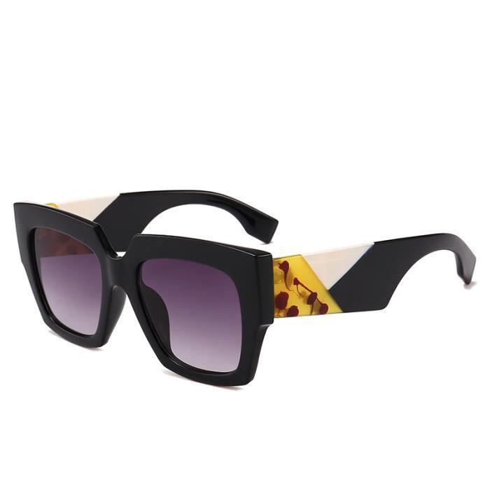 lunettes personnalité new de boîte hot soleil ladies soleil lunettes de  2018 grandes zTAwx 08d21775bf1c