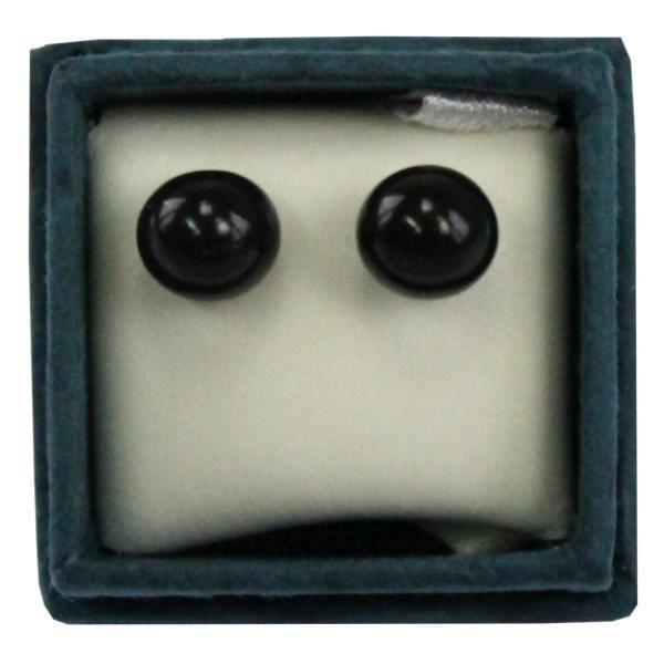 Boucles doreilles perle donyx - 6 mm - lot de 2 paires unique Multicolore