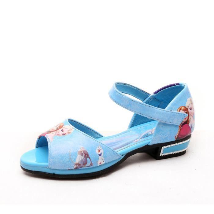 Chaussures Sandales Filles Princesse Chaussures d'été pour enfants