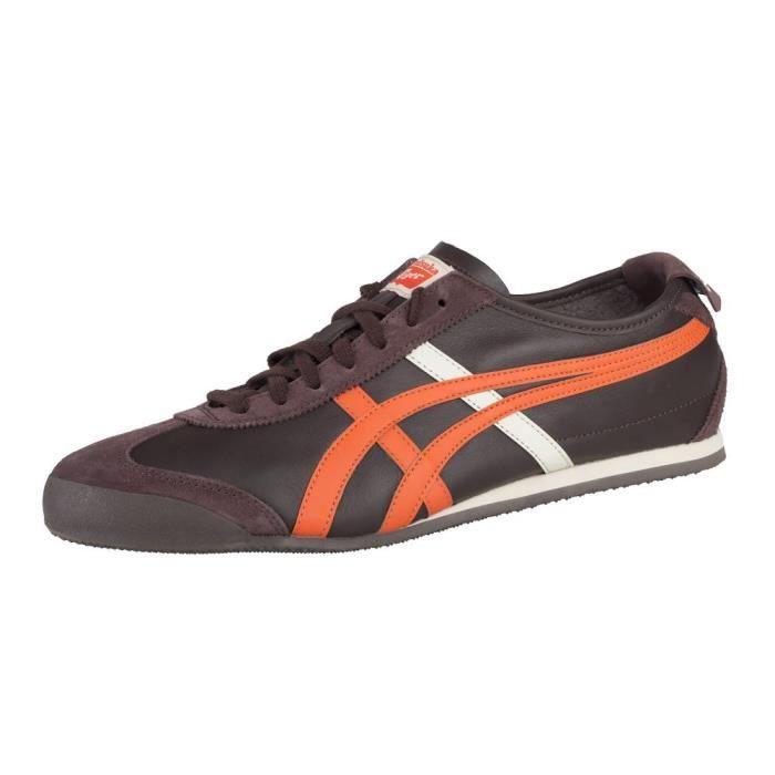 Chaussures Asics Mexico 66 Orange Orange Achat Vente