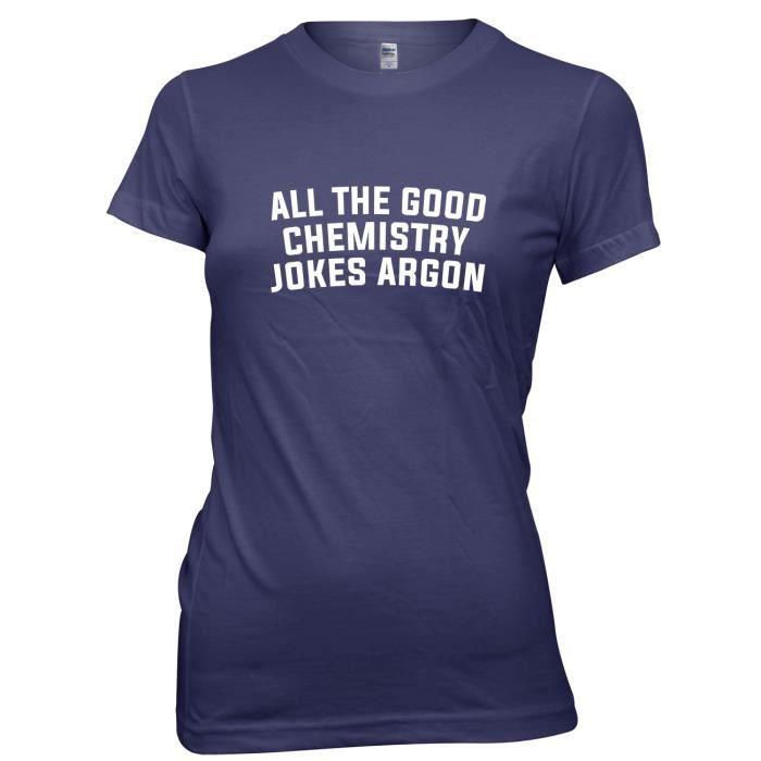 La Toutes shirt Daytripper Les Marine Blagues Argon Imprimé T Bonnes Chimie Sur a681q4