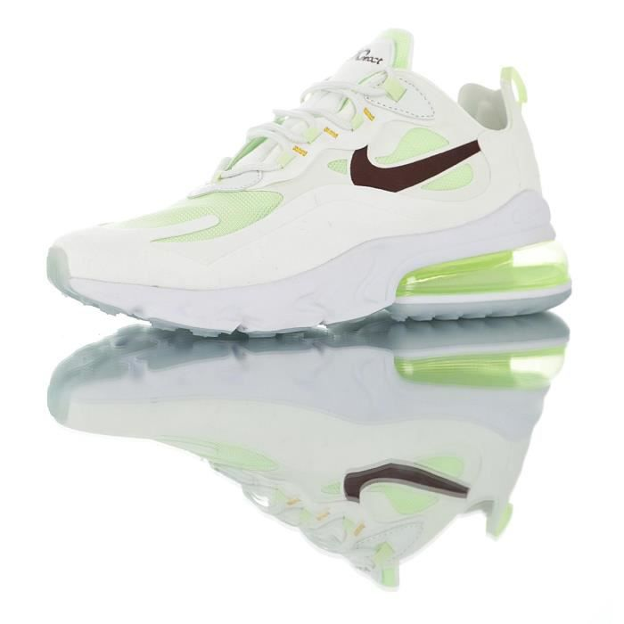 Blanc Nike Max Homme Baskets Air Femme 270 React Chaussures De Course DEWH9IY2