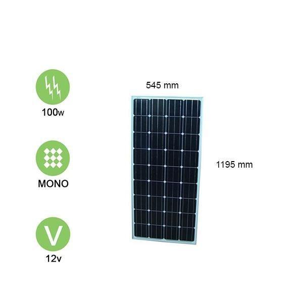 panneau solaire 100w-12v monocristallin - victron energy - achat