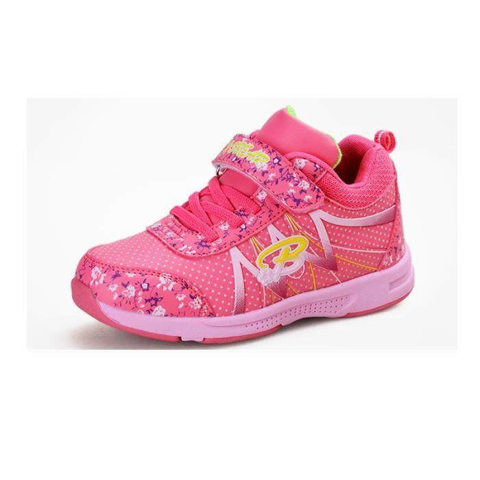 Basket Enfant hiver Sport Plus cachemire Ultra léger Chaussure BGD-XZ211Rouge27-1