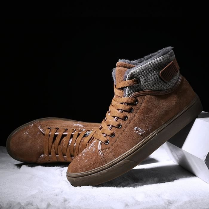 69ad58fd419 ... Chaussures montantes Mode Chaussure Homme Basket Homme Skate Shoes  Pegv3JqM ...