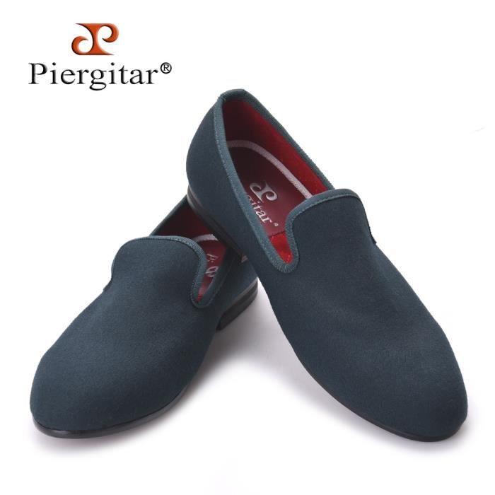 Nouveaux cinq couleurs Spécial Homme Chanvre main Chaussures Homme Taille Plus Slip- sur Party et Prom Mocassins Mode Hommes Flats 7KlnnBOQD