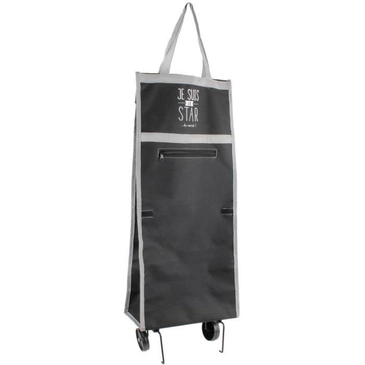 sac de course sur roulettes achat vente pas cher. Black Bedroom Furniture Sets. Home Design Ideas