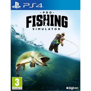 JEU PS4 Pro Fishing Simulator Jeu PS4