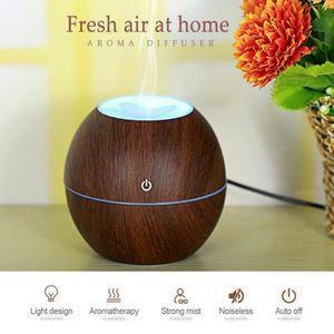 HUMIDIFICATEUR ÉLECT. Humidifier LED US ultrasons Aroma Huile Essentiell