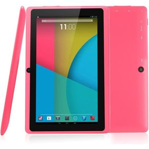 """TABLETTE TACTILE Tablette - Rose - 7"""" 8Go Android"""