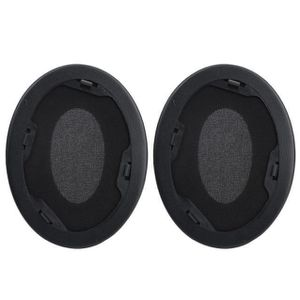 Pièce détachée Coussins d'oreille de remplacement noir Coussinets