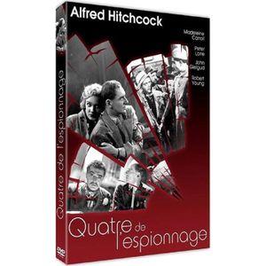 DVD FILM DVD - Quatre de l'Espionnage - Alfred HIITCHCOCK