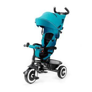 POUSSETTE  KINDERKRAFT - Tricycle évolutif ASTON bleu turquoi