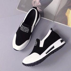SLIP-ON Femmes Bottes Compensées Chaussures de plate-forme
