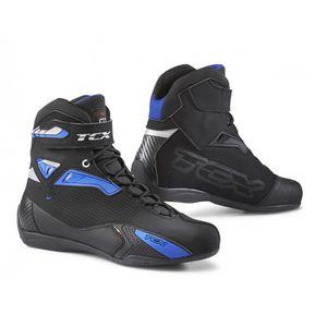 CHAUSSURE - BOTTE Bottes moto - TCX RUSH Noir/Bleu - 39