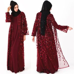 ROBE Femmes musulmanes robe islamique manches longues M