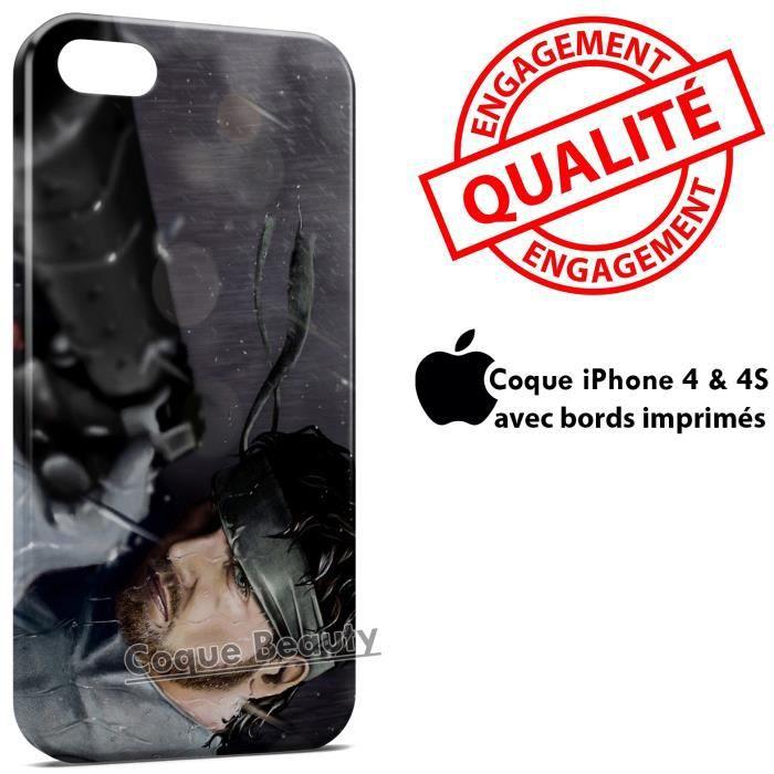 coque iphone 4 metal