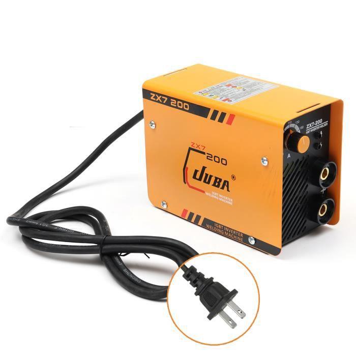 ZX7-200 Mini Machine de Soudage Électrique Poste à Souder Decoupeur Découpe  200A d0341274f0c6