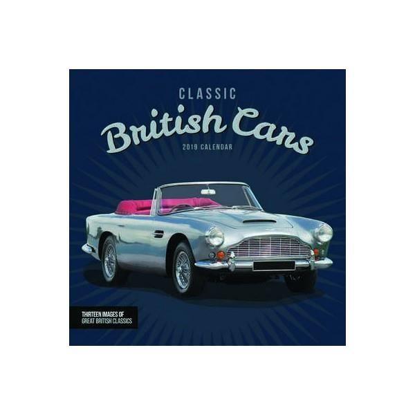calendrier voitures classiques anglaises 2019 - achat / vente
