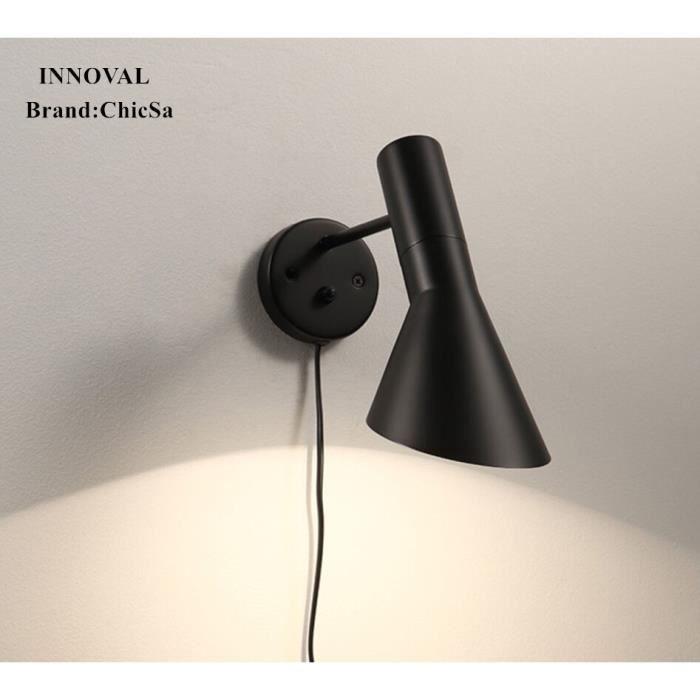 Applique Chevet Vents Style Américain Noir Créatif Lampe Chambre Industriels Murale Loft Personnalité Nordique Moderne w8PNnOym0v