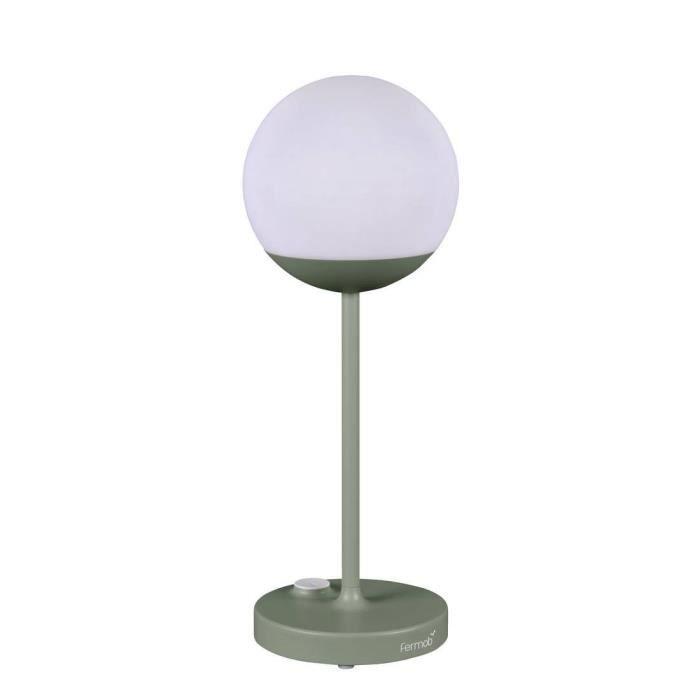Mooon Lampe Nomade Led D Exterieur Rechargeable H40cm Vert Cactus