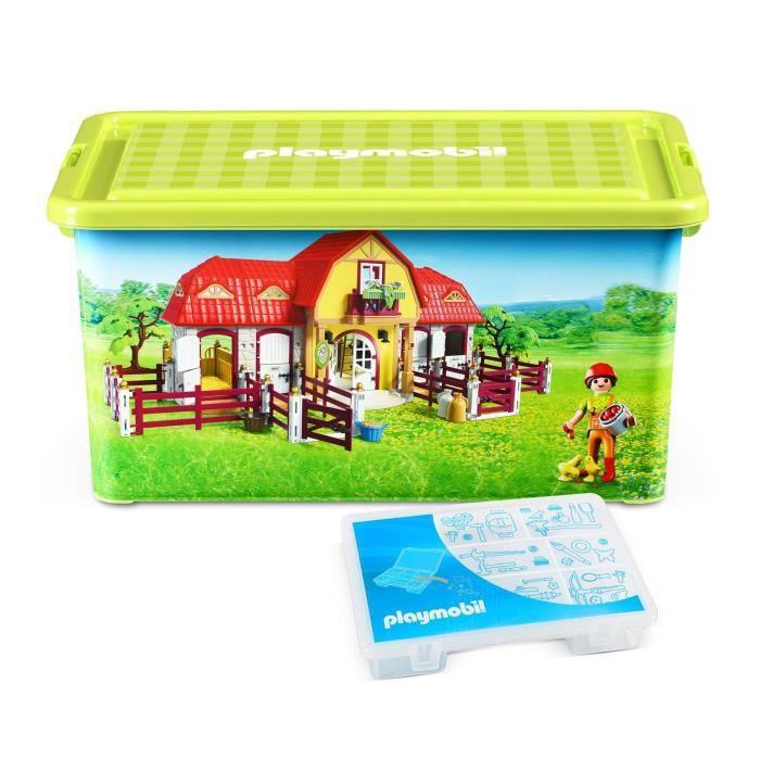 petite boite playmobil achat vente jeux et jouets pas chers. Black Bedroom Furniture Sets. Home Design Ideas