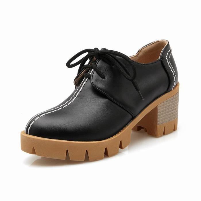 Sandals Femme Sports Tourisme Vernis Franges En PU Cuir Un peu Impression Lacets élégante Confortable h7B6wUw