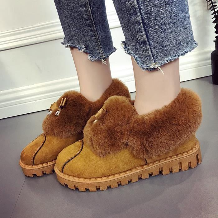 femmes enceintes Bottes neige 39; de amp; en femmes 39; femmes plus nouvelles chaussures coton cachemire hiver chaussures amp; wqXH4Wqrn7