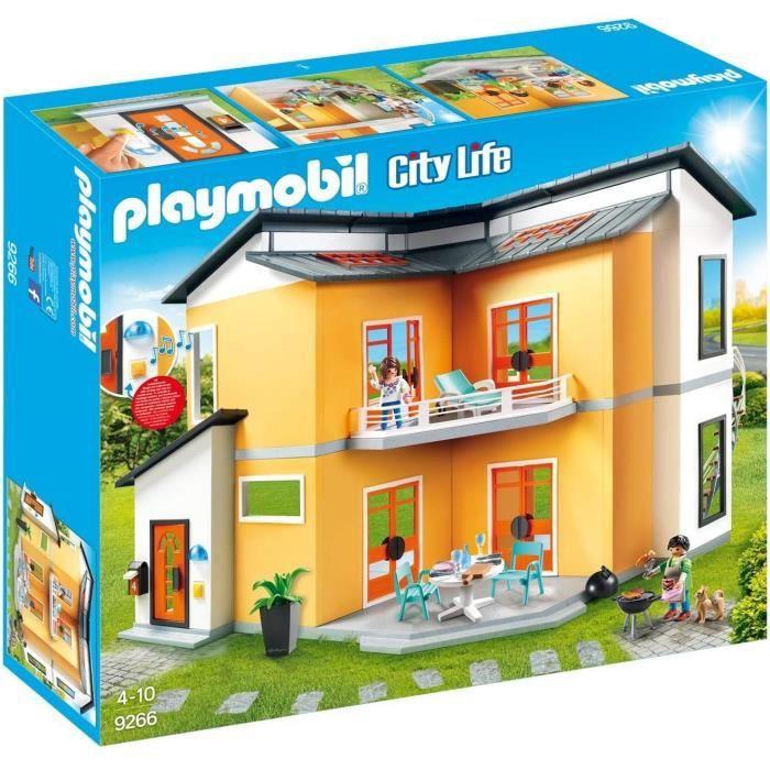 La maison de playmobil achat vente jeux et jouets pas for La maison moderne playmobil