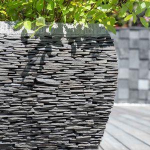 bac a fleurs en pierre achat vente bac a fleurs en pierre pas cher soldes d s le 10. Black Bedroom Furniture Sets. Home Design Ideas