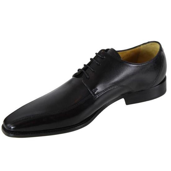 Chaussure en cuir Melvin   Hamilton Oskar 6 Noir Noir - Achat   Vente  richelieu - Soldes  dès le 27 juin ! Cdiscount 328806bfed7a