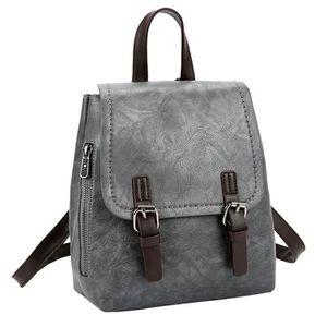 4dda5cb73b ... SAC SHOPPING Vintage femme étudiant en cuir sac cabas. ‹›