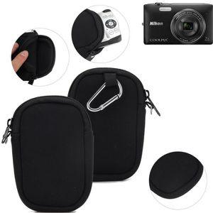 APPAREIL PHOTO COMPACT Pour Nikon Coolpix S3500 Étui de Protection en Néo