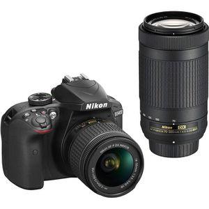 APPAREIL PHOTO HYBRIDE Appareil photo reflex numérique Nikon D3400 avec A