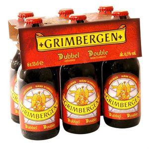 BIÈRE Bouteille de bière Grimbergen double brune