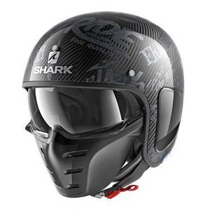 CASQUE MOTO SCOOTER Casque Jet Shark S-DRAK FREESTYLE CUP