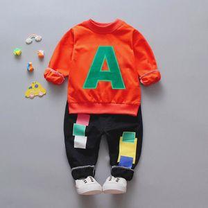 50697e0280822 Ensemble de vêtements Enfant en bas âge Garçons Vêtements enfants Lettre ...