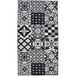 TAPIS UTOPIA Tapis de couloir 80x300cm - Noir