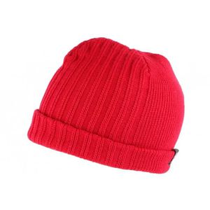 BONNET - CAGOULE Bonnet court rouge drapeau UK double polaire - Rou 372c4c7709a