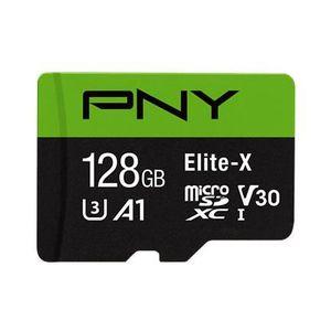 CARTE MÉMOIRE PNY Elite-X mémoire flash 128 Go MicroSDXC Classe
