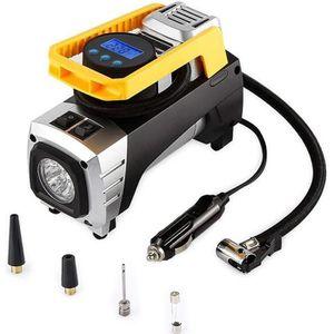 COMPRESSEUR AUTO Geker® Compresseur d'air Portable 12V Gonfleur de