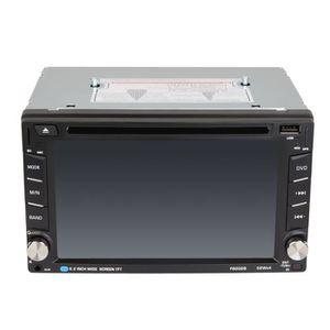 LECTEUR HD DVD Lecteur de DVD de voiture Bluetooth HD de 6,2 pouc